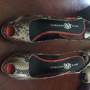 Rock & Republic heels (used, worn one time)
